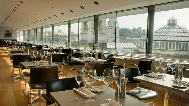 the portrait restaurant - food and drink