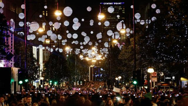 Christmas Lights and Decorations in London - Oxford Street