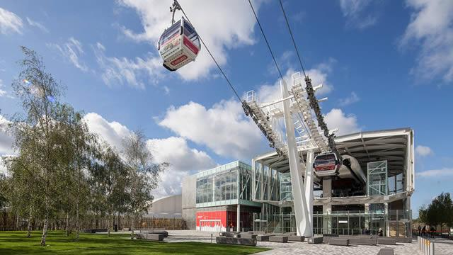 Emirates Air Line Cable Car Sightseeing Visitlondon Com