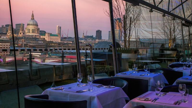 Oxo Tower Restaurant Bar And Brasserie Visitlondon Com