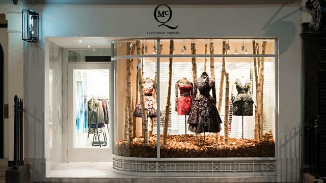 Mcq Alexander Mcqueen London Flagship Shopping
