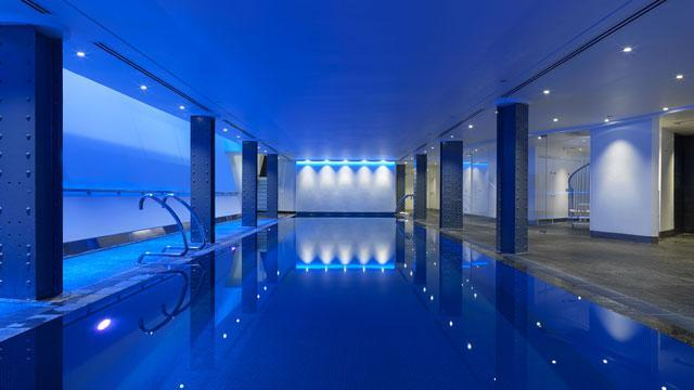 One aldwych hotel for Chlorine free swimming pool london