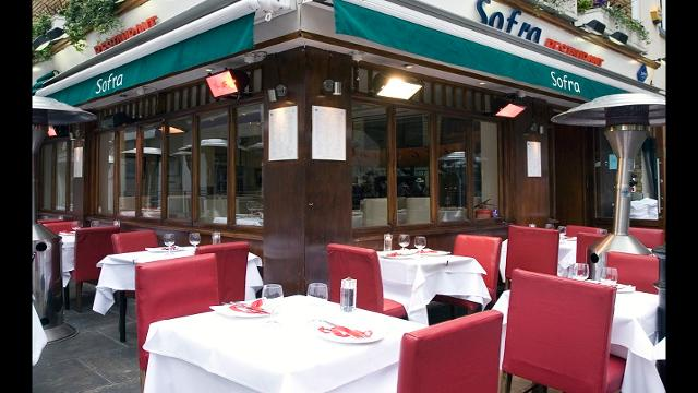 Sofra Restaurant St Christophers Place Menu