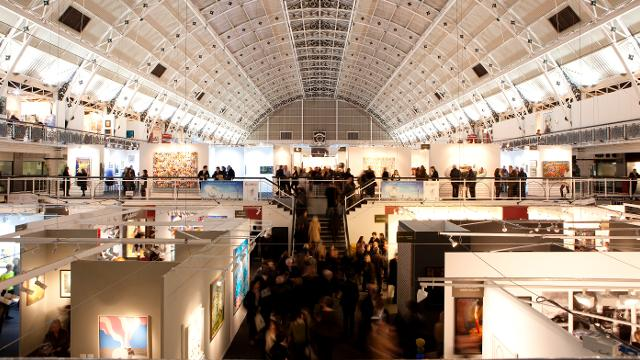 london art fair 2017 at business design centre