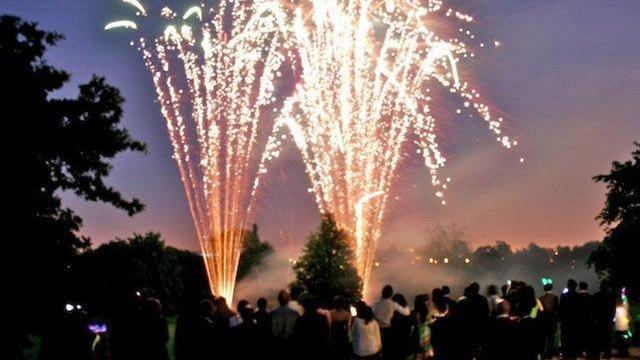 Ealing Cricket Club Fireworks