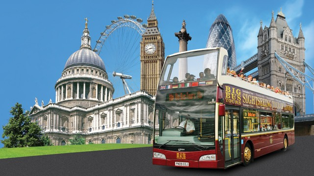 Big Red Bus Tour Tickets London