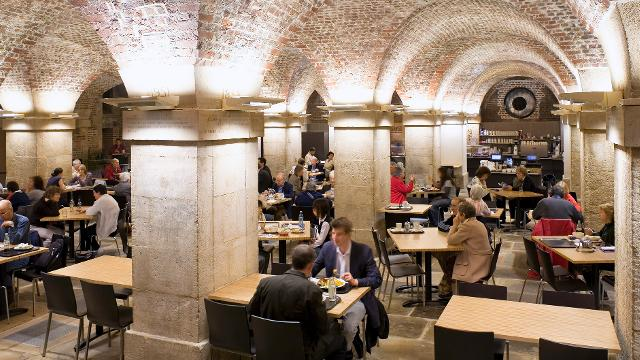Cafe Crypt St Martins In The Fields London