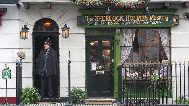 Discover London with Sherlock in 221B Baker Street slot