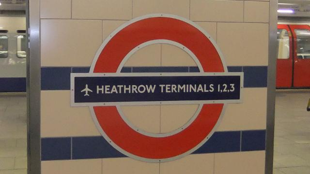 london information underground stations heathrow terminals