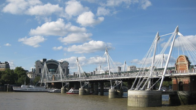 Image result for The Hungerford Bridge