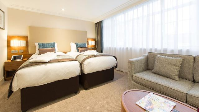 Amba Hotel Marble Arch Twin Room