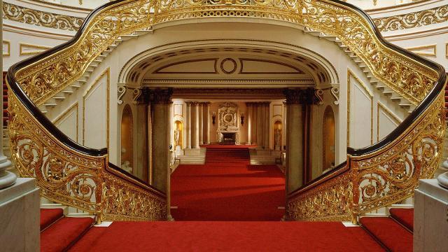 Buckingham palace sehensw rdigkeiten - Buckingham palace interno ...