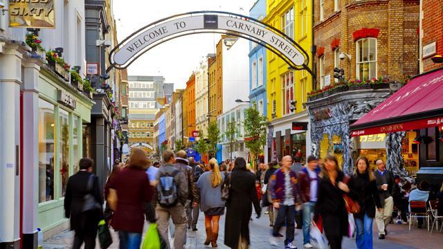 Carnaby Street Shopping Visitlondon Com