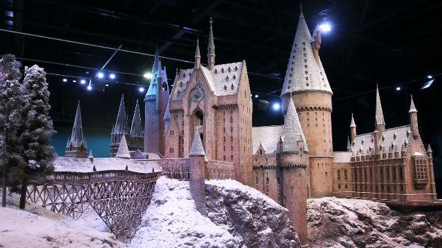Hogwarts In The Snow At Warner Bros Studio Tour London