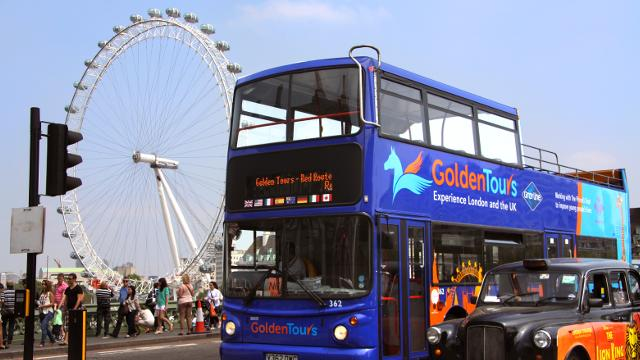 Golden Tours Hop On Hop Off London