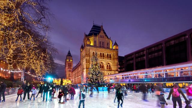Natural History Museum Ice Rink What S On Visitlondon Com