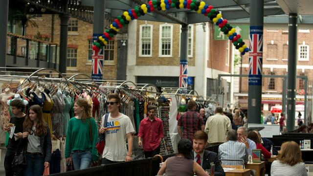 Old Spitalfields Market Shopping Visitlondon Com