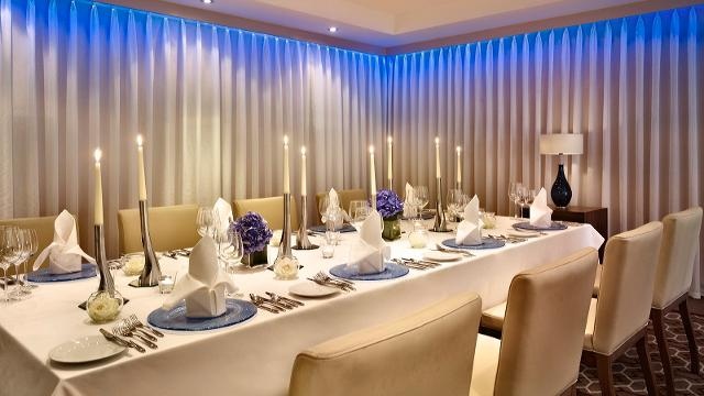 The chelsea harbour hotel official london convention bureau for Best private dining rooms chelsea