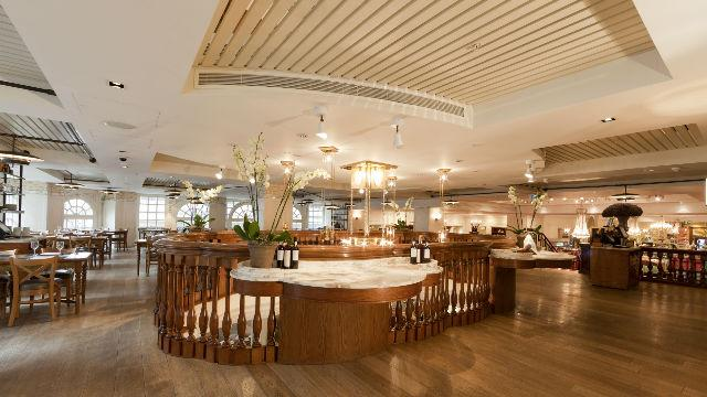 The gallery at fortnum mason food and drink for Maison mason