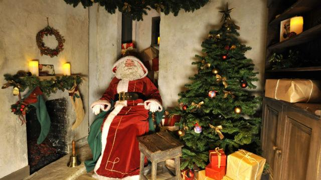 Victorian Santa S Grotto At Museum Of London Docklands