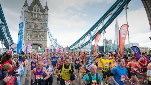 The London Marathon was