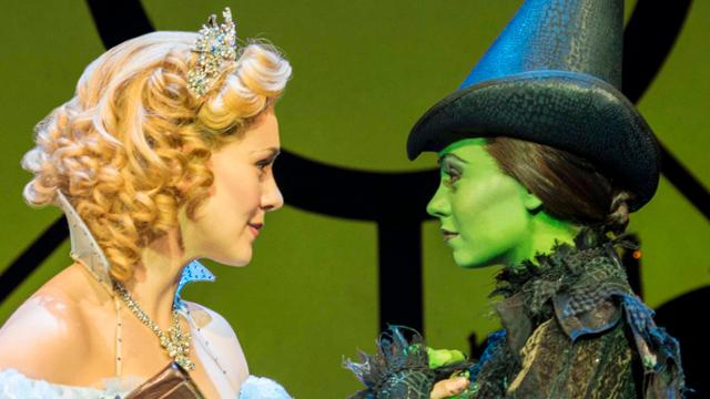 Wicked the musical at the apollo victoria savannah stevenson and emma