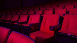 Red seats in a cinema