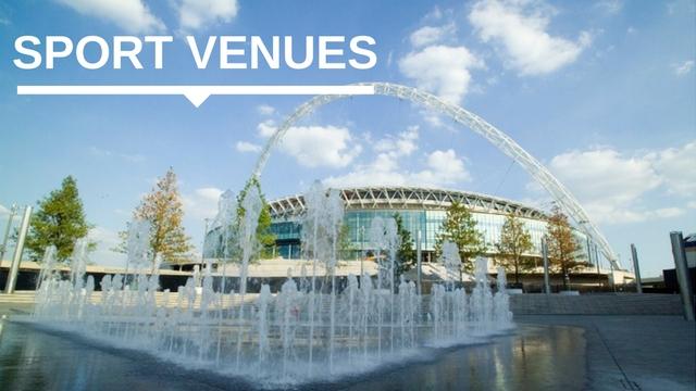 Wembley Stadium banner