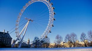 London Eye Winter