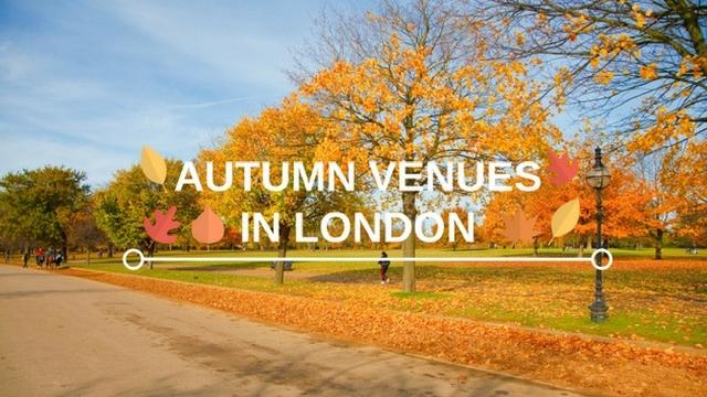 Autumn venues blog banner