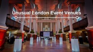 Unusual venues blog header banner