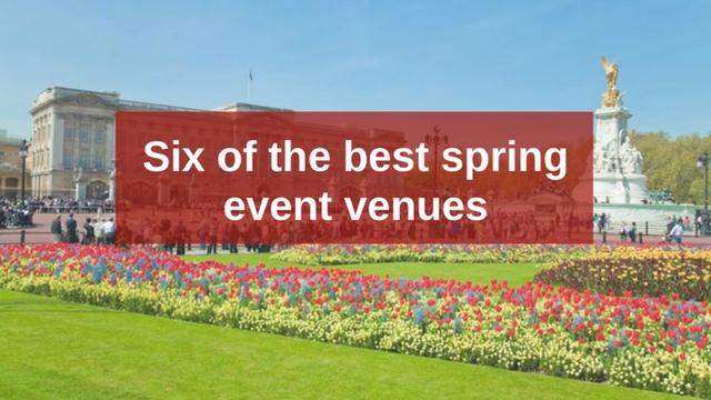 Spring venues blog banner