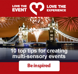 10 top tips for creating multi-sensory events - be inspired