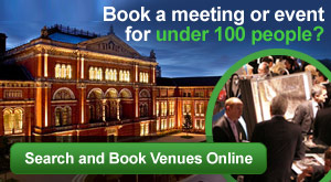 Booking a meeting or event for under 100 people? Search and Book Venues Online
