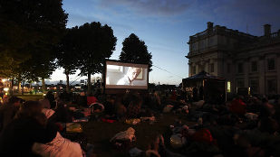 Nomad Cinema screening at Greenwich Park