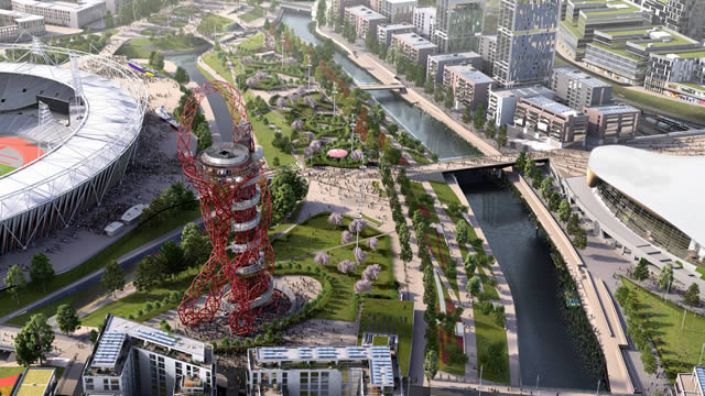 ArcelorMittal Orbit at the Queen Elizabeth Olympic