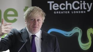 Mayor of London Boris Johnson Tech Launch NS