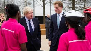 Prince Harry and the Mayor of London
