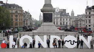 Dot London Launch at Trafalgar Square