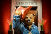 Michael Bond's Paddington Bear at the Christie's Gala Auction
