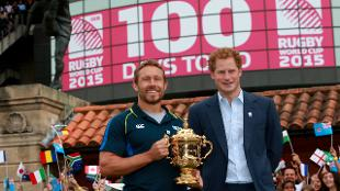Prince Harry and Jonny Wilkinson