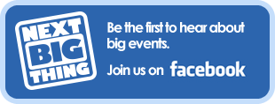 Be the first to hear about big events. Join us on Facebook