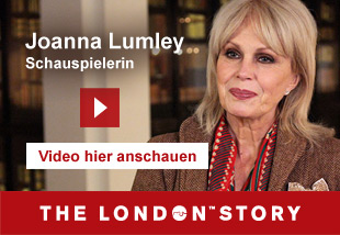 Joanna Lumley, Actress   Video hier anschauen. The London Story.