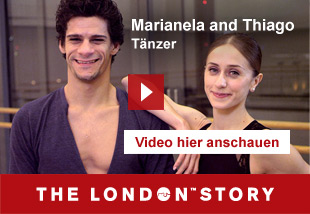 Marianela and Thiago, Dancers   Video hier anschauen. The London Story.