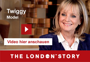 Twiggy, Model, Actress and Designer   Video hier anschauen. The London Story.