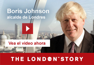 Boris Johnson, Mayor of London   Vea el video ahora. The London Story.