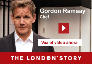 Gordon Ramsay, Chef and Restaurateur   Vea el video ahora. The London Story.