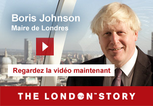 Boris Johnson, Mayor of London   Regardlez la vidèo maintenant. The London Story.