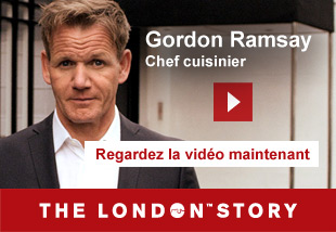 Gordon Ramsay, Chef and Restaurateur   Regardlez la vidèo maintenant. The London Story.