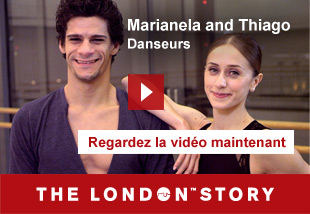 Marianela and Thiago, Dancers   Regardlez la vidèo maintenant. The London Story.